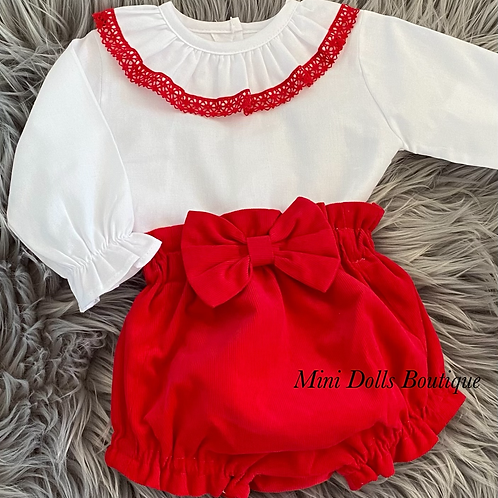 Red Cord 2 Piece