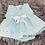 Thumbnail: Mint Ribbon Slotted Dress Set
