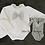 Thumbnail: White Knitted Jam Pants Set
