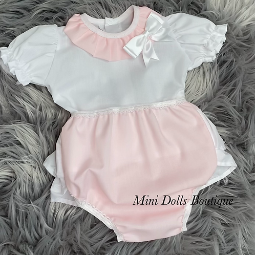 Pink Bow 2 Piece