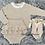 Thumbnail: Beige Knitted Ruffle Set