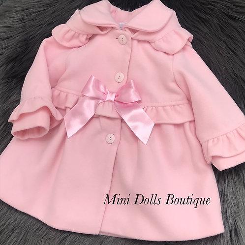 Baby Pink Frill Coat