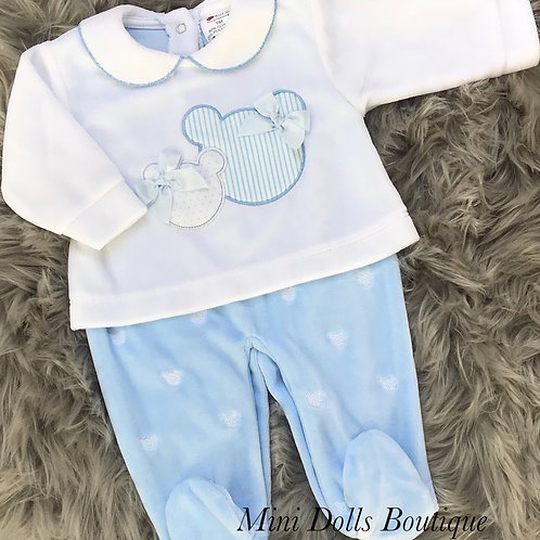 Blue Micky & Minnie All In One