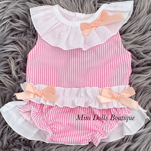 Pink Candy Cane 2 Piece