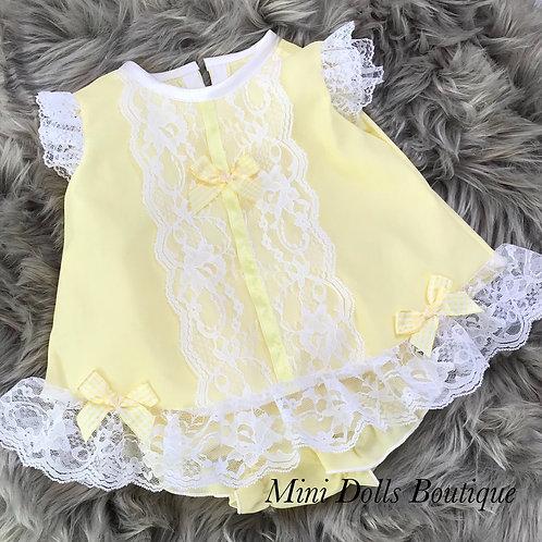 Lemon Angel Dress Set