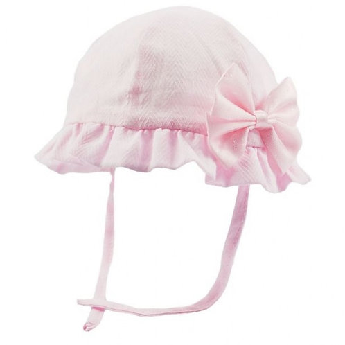 Pink Summer Bow Hat