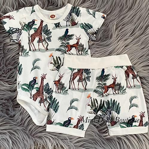 Safari Shorts Set