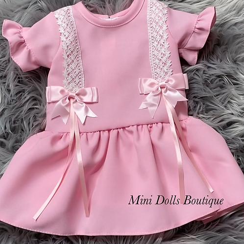 Rose Pink Dropwaist Dress