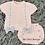 Thumbnail: Pink Bow Short Sleeve Set