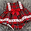 Thumbnail: Red Tartan Dress Set