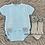 Thumbnail: Blue Pom Pom Short Sleeve Set