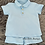 Thumbnail: Sky Blue Polo Shorts Set