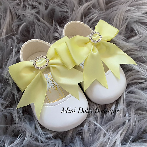 White & Lemon Soft Sole Baypods