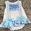 Thumbnail: Blue Bow Lace 2 Piece