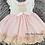 Thumbnail: White & Pink Lace Trim Dress