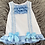 Thumbnail: Blue Bow Lace Dress