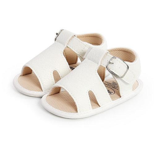 White Soft Sole Sandals