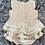 Thumbnail: Beige Lace Ruffle 2 Piece