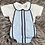 Thumbnail: Baby Blue Romper Set