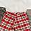 Thumbnail: Red Checked Shorts Set