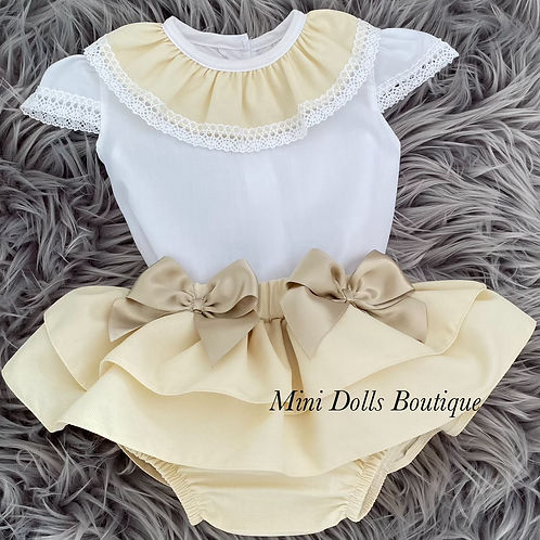 Gold Bow 2 Piece