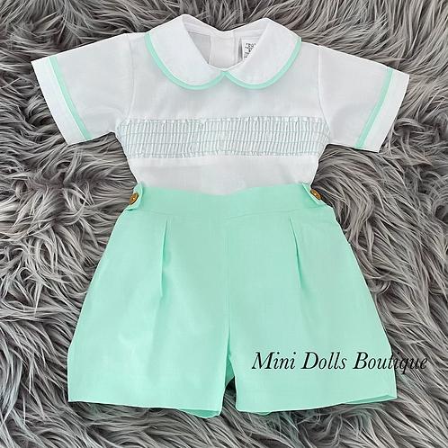 Mint Shorts 2 Piece