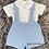 Thumbnail: Blue Dungaree Shirt Set