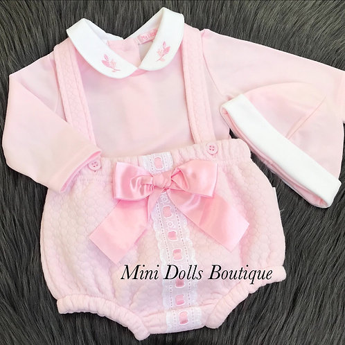 Lace & Bow 3 Piece Outfit