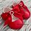 Thumbnail: Red Soft Sole Diamante Baypods