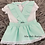 Thumbnail: Mint Double Bow Skirt Set