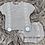 Thumbnail: Grey Pom Pom Short Sleeve Set