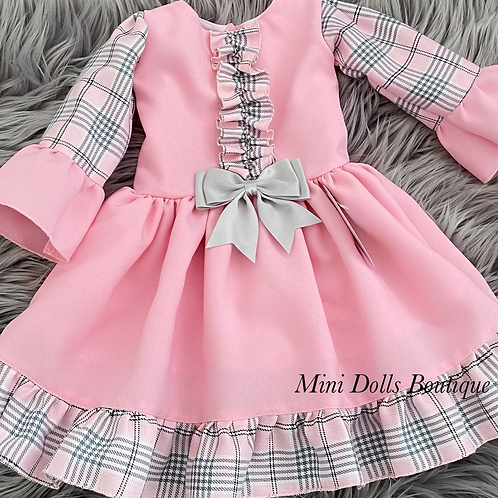 Pink Kinder Dropwaist Dress