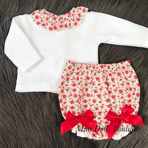 Red Bow 2 Piece