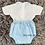 Thumbnail: Blue & White Shirt Set