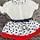 Thumbnail: Red & Navy Butterfly Set