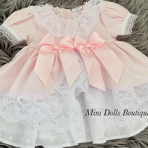 Luxury Lace Bow Dress