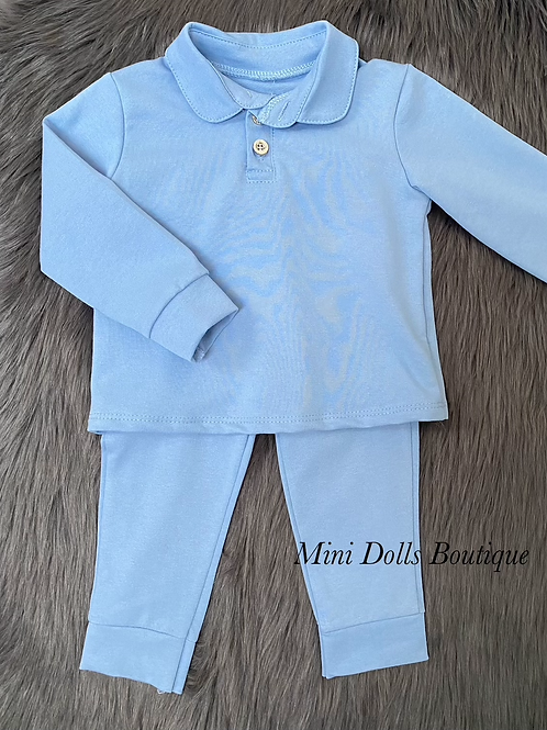 Blue Polo Tracksuit