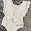 Thumbnail: Ivory Lace Romper & Headband