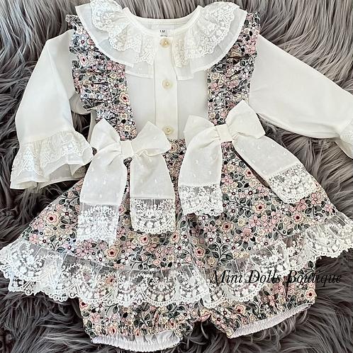 Floral & Lace 2 Piece