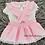 Thumbnail: Pink Double Bow Skirt Set