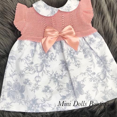 Rose Gold & Grey Dress