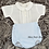 Thumbnail: White & Blue Jam Pants set