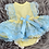Thumbnail: Lemon & Blue Lace Dress Set