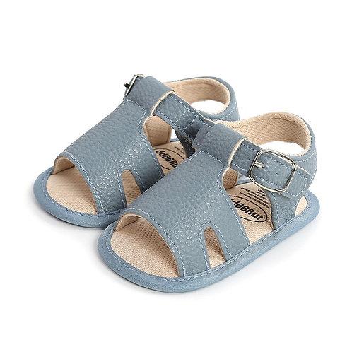Blue Soft Sole Sandals