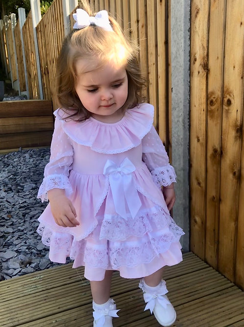 Luxury Lace Sleeved Dress