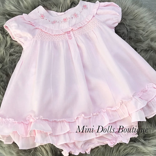Pink Empire Dress Set