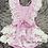 Thumbnail: Lilac Lace Romper Set