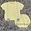 Thumbnail: Lemon Pom Pom Short Sleeve Set