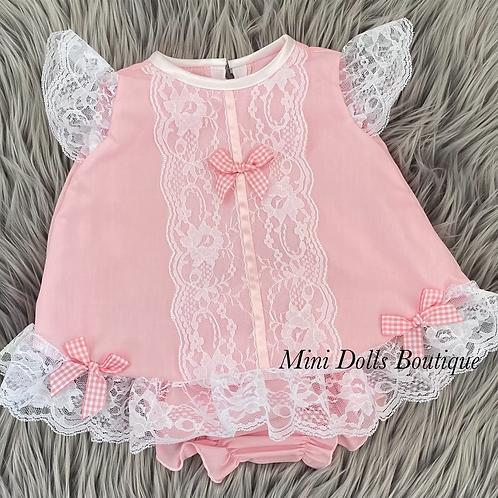 Pink Angel Dress Set