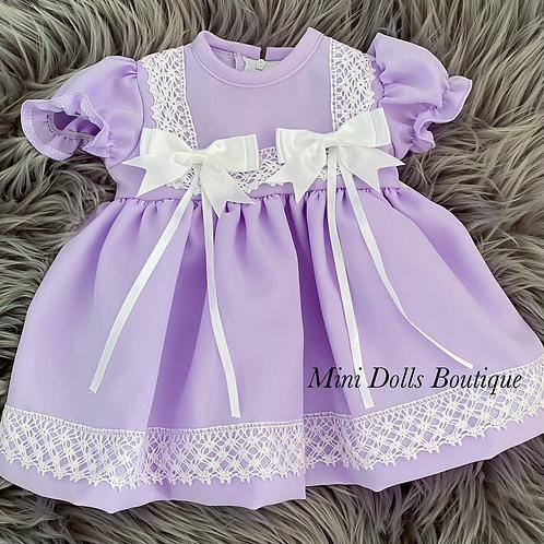 Lilac Bow Dress